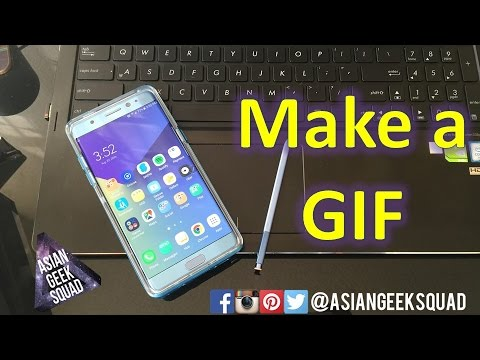 Make a GIF with Samsung Galaxy Note 7