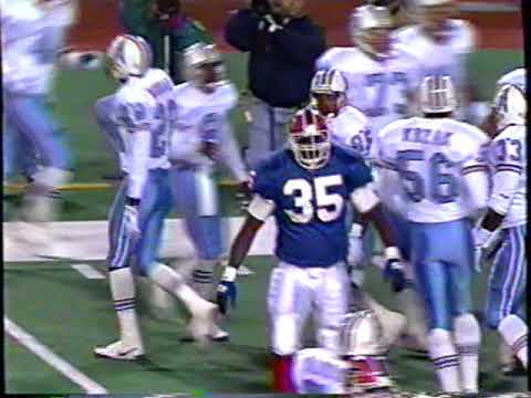 1993 - Week 6 - Houston Oilers at Buffalo Bills