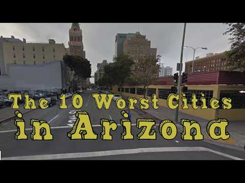 These Are The 10 WORST CITIES In ARIZONA