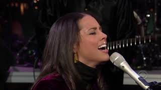 Alicia Keys - Sweet Music HD (Great Live Band Performance on Late Night)