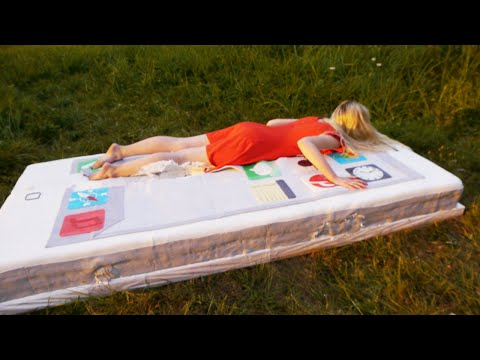 Jumping Into a Giant 500 Pound iPhone Cake!