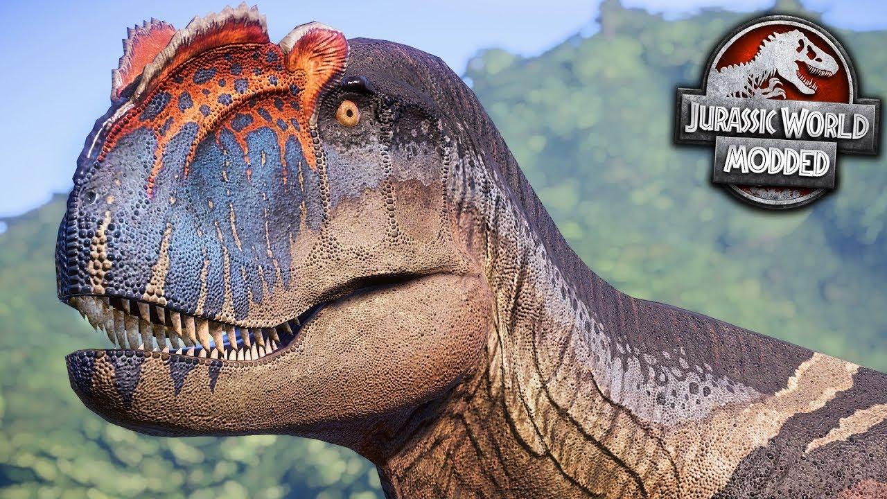 Yangchuanosaurus Is Amazing Jurassic World Evolution Modded Series Ep11 Youtube