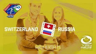 HIGHLIGHTS: Switzerland v Russia -  Gold medal final - World Mixed Doubles Curling Championship 2018