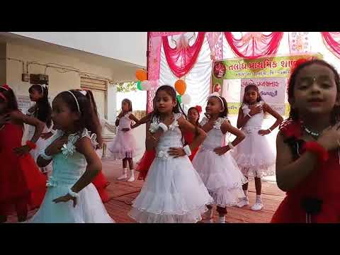 Abhinay Geet - Great Cultural Program & Best Dancing by Indian School Girls