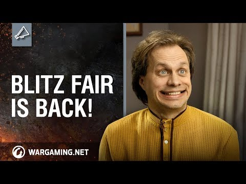 Blitz Fair is back! (chests, rare tanks and tickets)