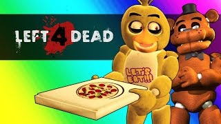 Five Nights At Freddy s Vs. Minecraft Left 4 Dead 2 Funny Moments and Mods
