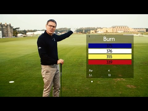 How to Play the Old Course with Steve North - Hole 1 - Burn