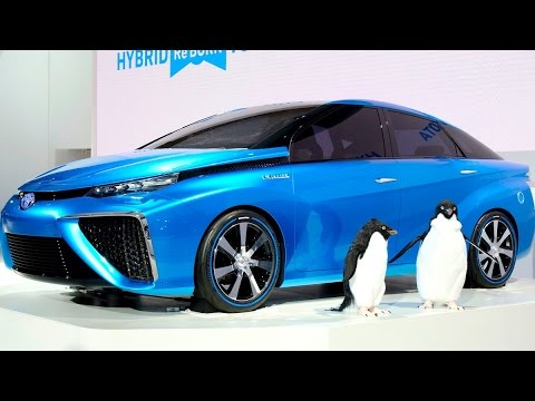 Say Hello to the Hydrogen-Powered Car