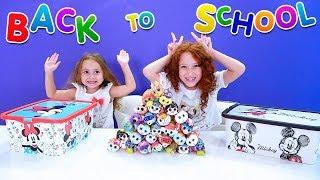 BACK TO SCHOOL   CHALLENGE MYSTERY BOX   Замена ЧЕЛЛЕНДЖ   Тайные коробки