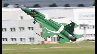 Airshow Paris 2019 Le Bourget incredible J17 Thunder Pakistan saturday 22 june display in fligh 4K
