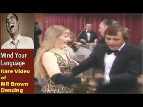 Barry Evans British Classic Dance: Best Of Mind Your Language Rare Video