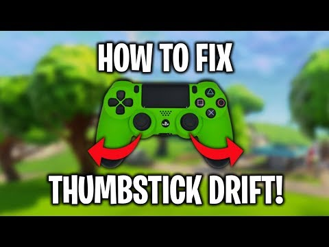How To Fix Analog/Thumbstick Drift PS4 Controller (Easy Fix)