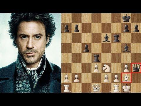 Sherlock Holmes vs Professor James Moriarty - A Game of Shadows