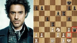 Sherlock Holmes vs Professor James Moriarty - A Game of Shadows