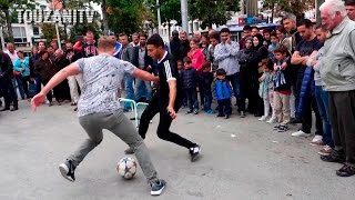 INSANE NUTMEGS! Touzani VS World (+100 Crazy Street Football Pannas)
