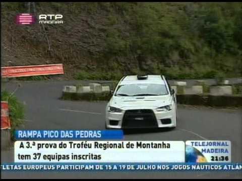 Reportagem RTP Novidades Rampa Pico das Pedras