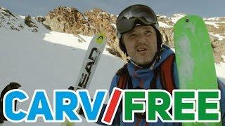 видео Виды горных лыж