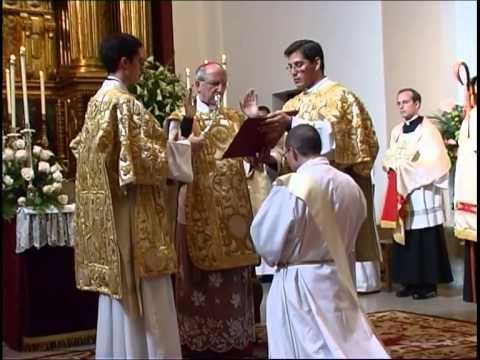 Ordenación Sacerdotal del Padre Miguel Ángel de la Madre de Dios