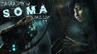 Gramy w SOMA na ślepo! - Nocny stream - Potrzebne pampersy? #live #giveaway CEL 500 subów! - Na żywo