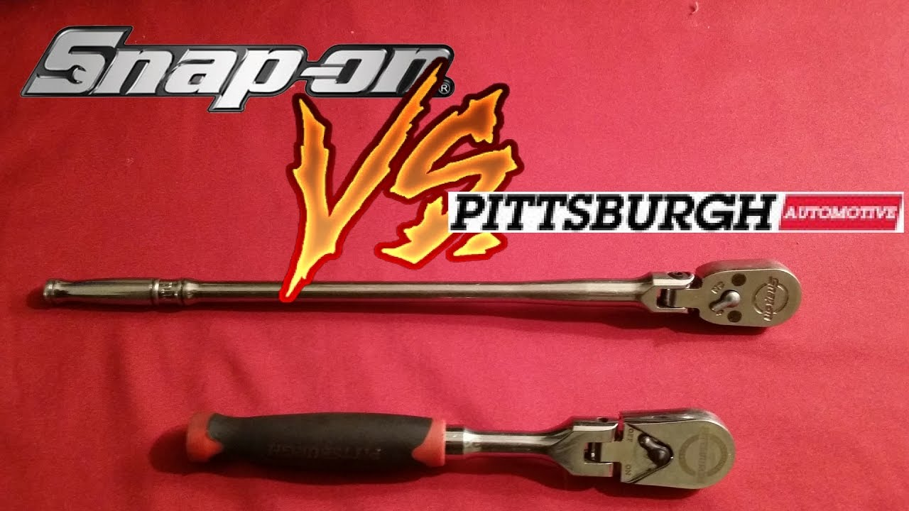 Must Have These Ratchets In Your Box  Snap On VS Pittsburgh Harbor Freight