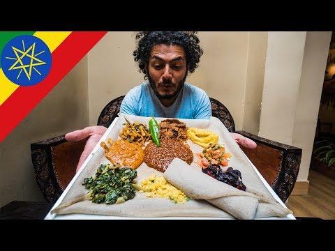 اكلنا كل الاكل الاثيوبي في يوم واحد احلى اكل في افريقيا