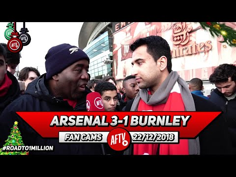 Arsenal 3-1 Burnley | Ozil Receives Unfair Criticism! He Was Involved In All Our Goals!