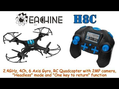 Квадракоптер Eachine H8 с 2 MP камера headless режим 6-осов жироскоп 17
