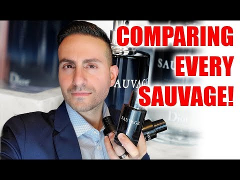 Dior Sauvage EDT Vs. EDP Vs. Parfum!
