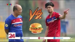 Công Phượng VS Park Hang Seo  Cuộc chiến Hamburger