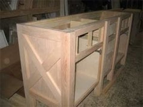 Barn Door Kitchen Cabinets - YouTube