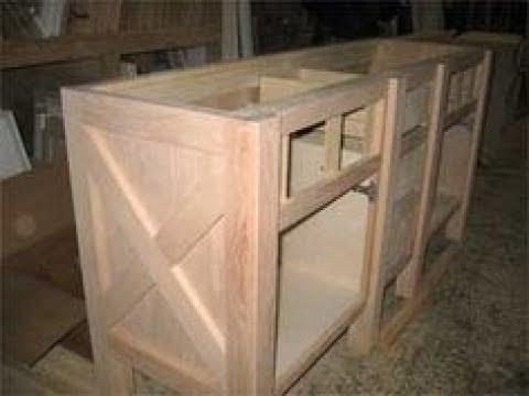 Barn Door Kitchen Cabinets - YouTube