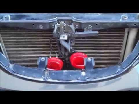 HELLA 7424801 Twin Trumpet Horns vs Factory Horns