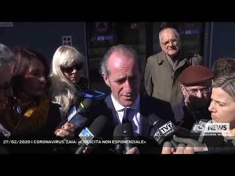 27/02/2020 | CORONAVIRUS. ZAIA: «CRESCITA NON ESP...