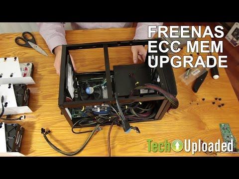 FreeNAS Box ECC memory upgrade