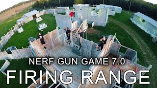REAL LIFE FIRING RANGE | Nerf Gun Game 7.0 Behind the Scenes