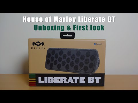 House of Marley Liberate BT unboxing & first look