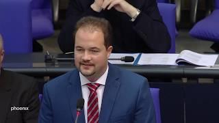 Martin Sichert (AfD) löst Eklat im Bundestag aus am 18.10.19