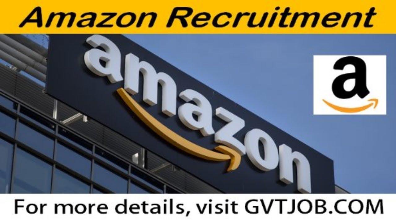 Amazon Recruitment - Private Jobs - Freshers Jobs - Apply Online !