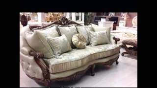 Мягкая мебель в классическом стиле Рената. Living Room Set Renata(, 2016-05-19T13:38:26.000Z)