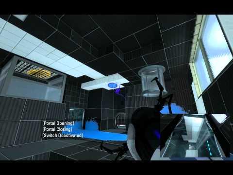 Portal 2 Coop map - Cyan Industries 3 part 1