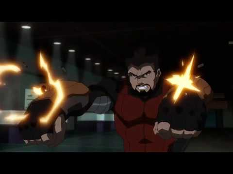 Deadshot Kills Reverse Flash Scene - Suicide Squad: Hell To Pay