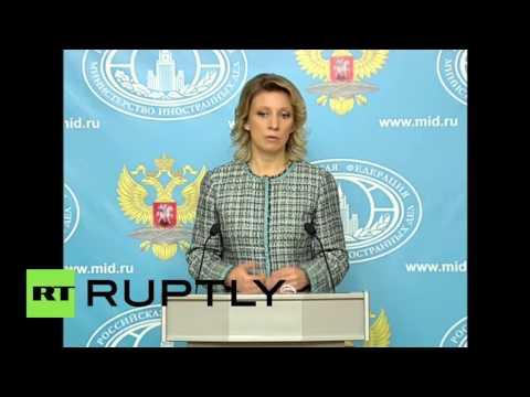Russia: Zakharova warns of 'information tricks' ahead of Dutch EU-Ukraine vote