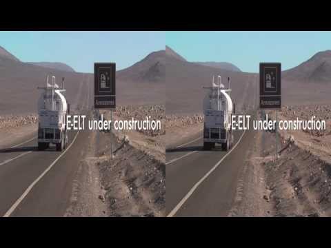 E-elt under construction 3D
