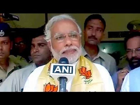 'Ma Ganga' has called me to Varanasi, says Narendra Modi