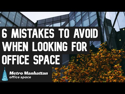Mistakes To Avoid When Evaluating Commercial Space For Rent