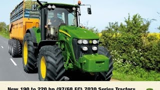 John Deere 7030 series official product video compilation