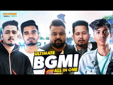 We Literally Did EVERYTHING in BGMI ... *Roasts, 1v1s , ETC. * | ALL IN ONE - ft Big Streamers