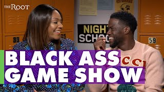 Tiffany Haddish and Kevin Hart Play 'Black Ass Game' | Night School | The Root