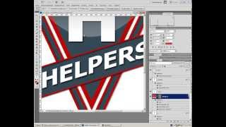 Видео Урок #1 Логотип в Фотошопе CS5
