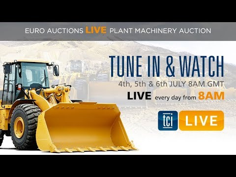 The Construction Index Live - DAY 3 At Euro Auctions Leeds